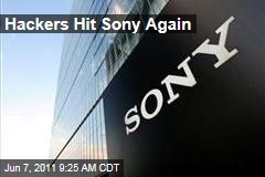 Hackers Lulz Security or LulzSec Hit Sony Again