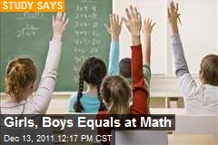 Girls, Boys Equals at Math