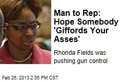 Man to Rep: Hope Somebody 'Giffords Your Asses'