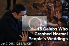 15 Celebs Who Crashed Normal People's Weddings
