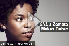 SNL's Zamata Makes Debut