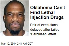 Oklahoma Can't Find Execution Drugs