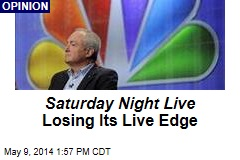 Saturday Night Live Losing Its Live Edge