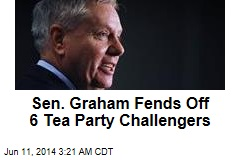 Sen. Graham Fends Off 6 Tea Party Challengers