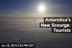 Antarctica's New Scourge: Tourists