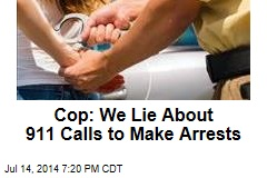 Police Chief to Cops: Stop Lying About Fake 911 Calls