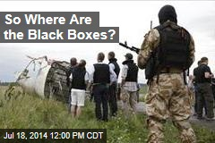 So Where Are the Black Boxes?
