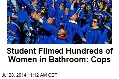 Student Filmed Hundreds of Women in Bathroom: Cops