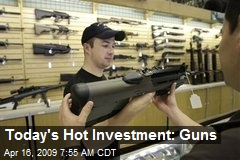 Today's Hot Investment: Guns