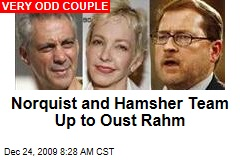 Norquist and Hamsher Team Up to Oust Rahm
