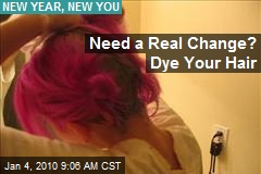 Need a Real Change? Dye Your Hair