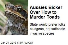 albino toads in il