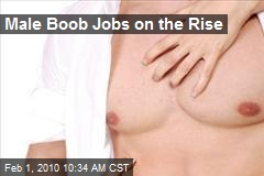 Male Boob Jobs on the Rise