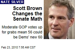 Scott Brown Changes the Senate Math