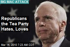 Republicans the Tea Party Hates, Loves